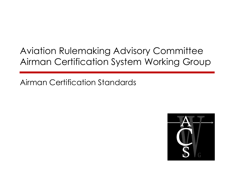 Arac Acs Wg Airman Certification Standards
