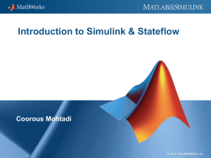 Introduction to Simulink & Stateflow