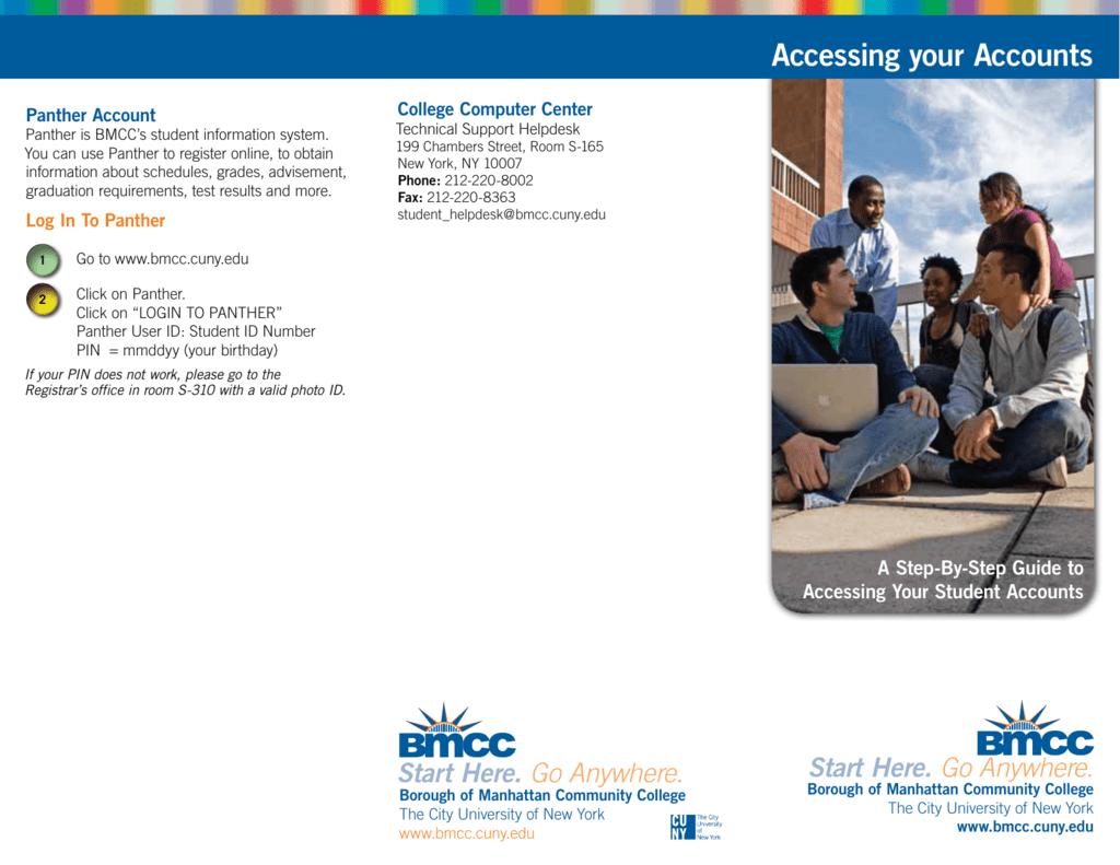 accessing your accounts - borough of manhattan community college
