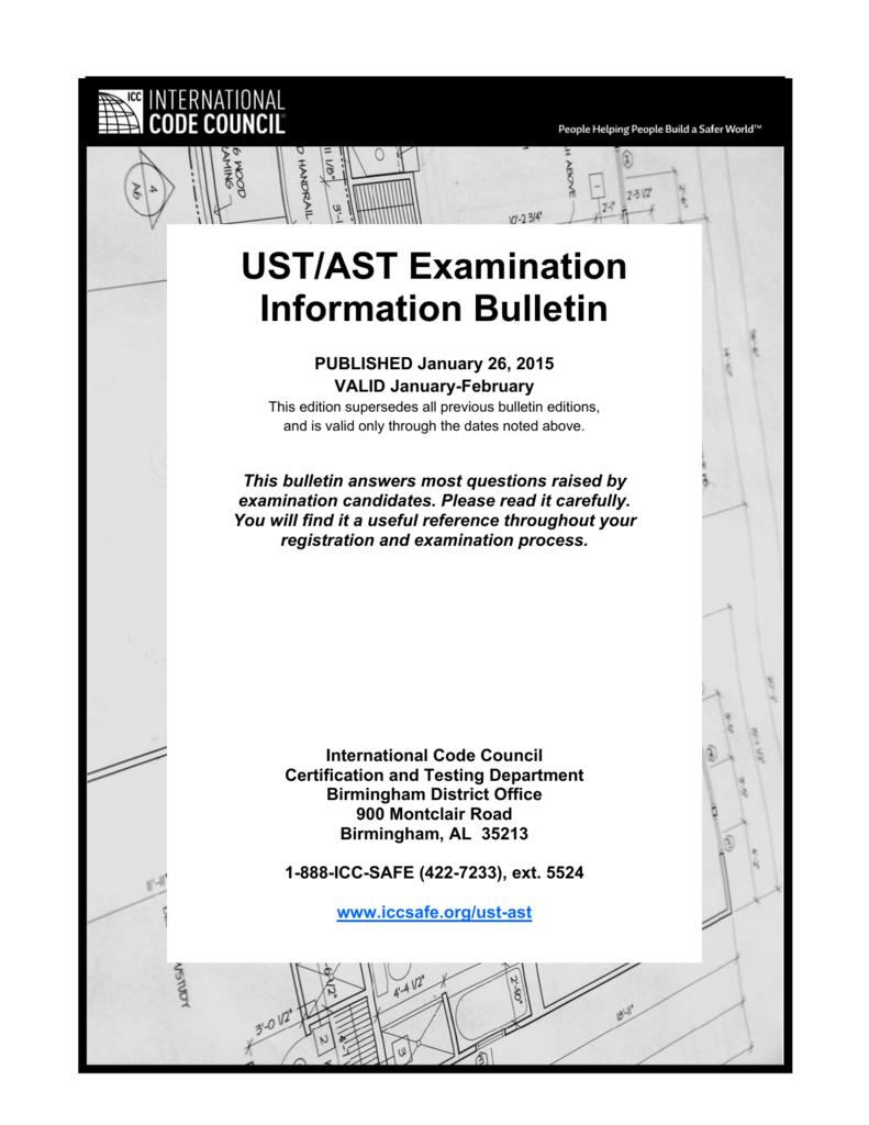 Ust Ast Examination Information Bulletin