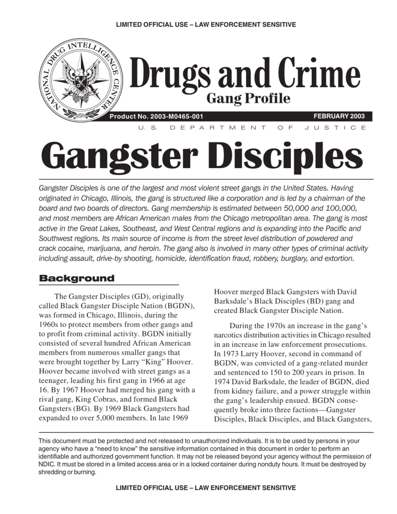Drugs and crime gang profile buycottarizona Choice Image