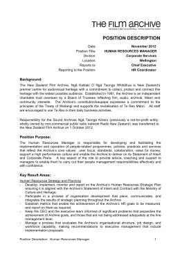 Human Resource Manager Position Description v2-1