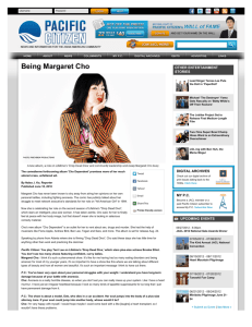 Being Margaret Cho | pacificcitizen.org