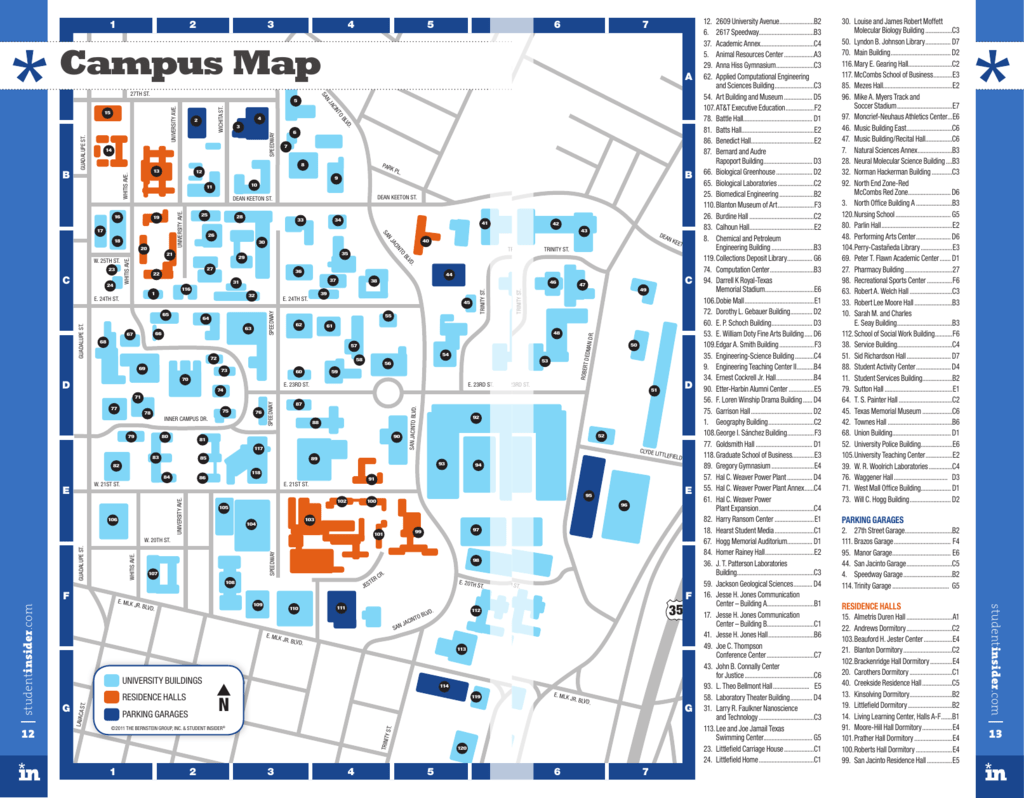 Campus Map - StudentInsider on bc central campus map, central state university campus map, broward college central campus map, uco campus map, central texas campus map, cwu campus map, poe hall ncsu campus map,