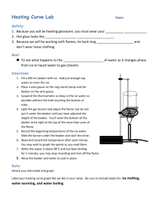 Heating Curve Lab