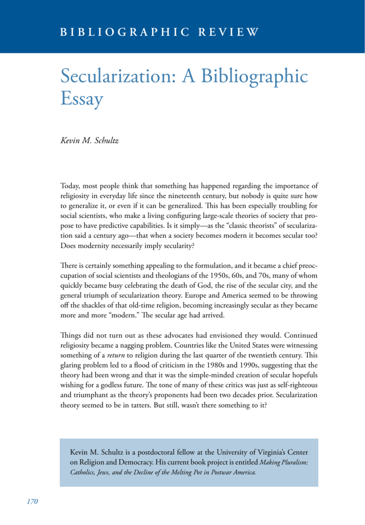 bybliography for essay