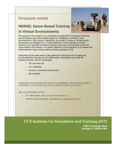 UCF Institute for Simulation and Training (IST)