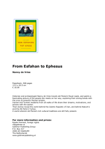 From Esfahan to Ephesus
