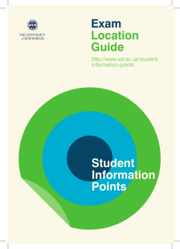 Student Information Points Exam Location Guide