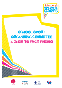 A Guide to Fact Finding