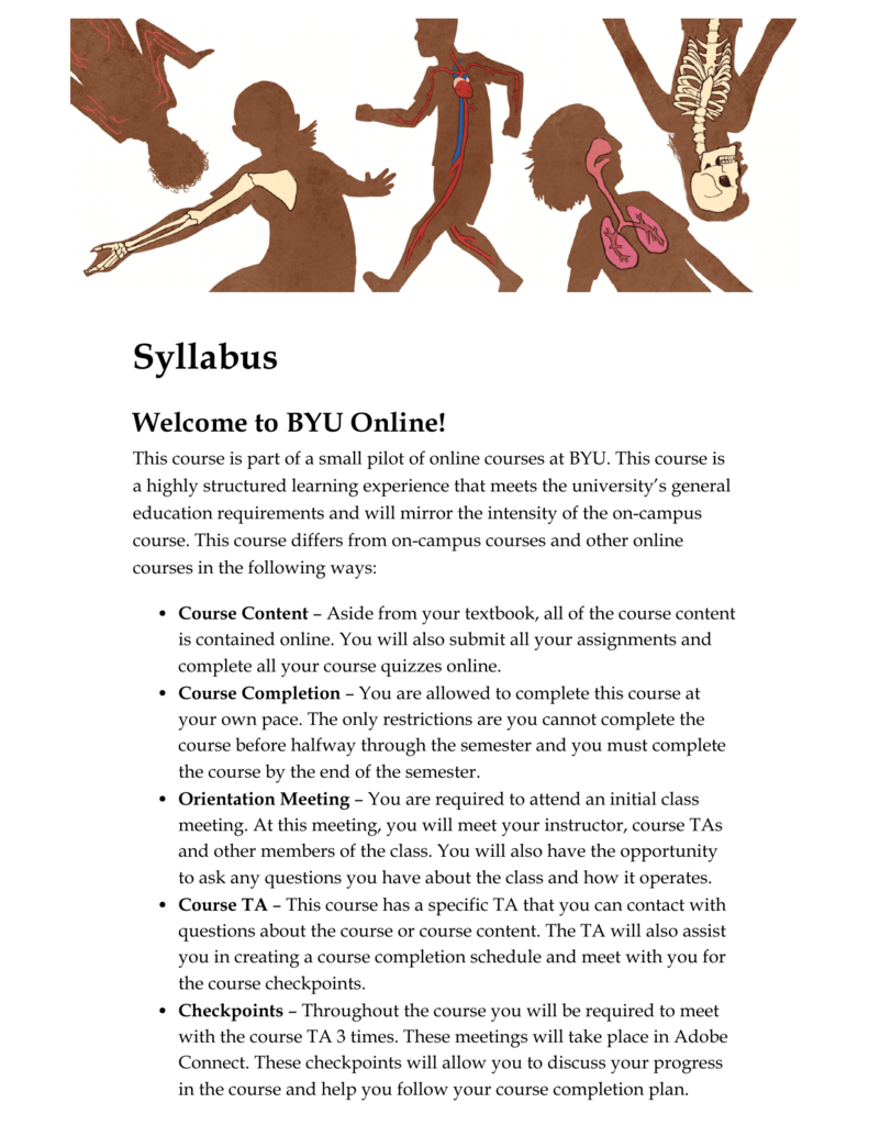 Syllabus - BYU Independent Study