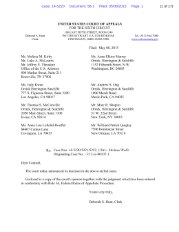 CA6 – Opinion 5-8-15 Reverse and Remand!