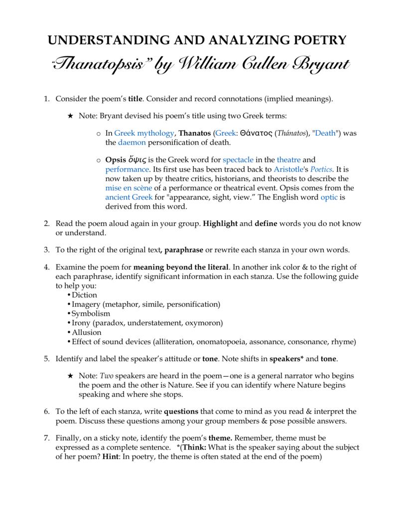 thanatopsis-analysis-activity / Adobe Acrobat Document