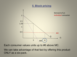 Pricing Strategies, Parts 5-7