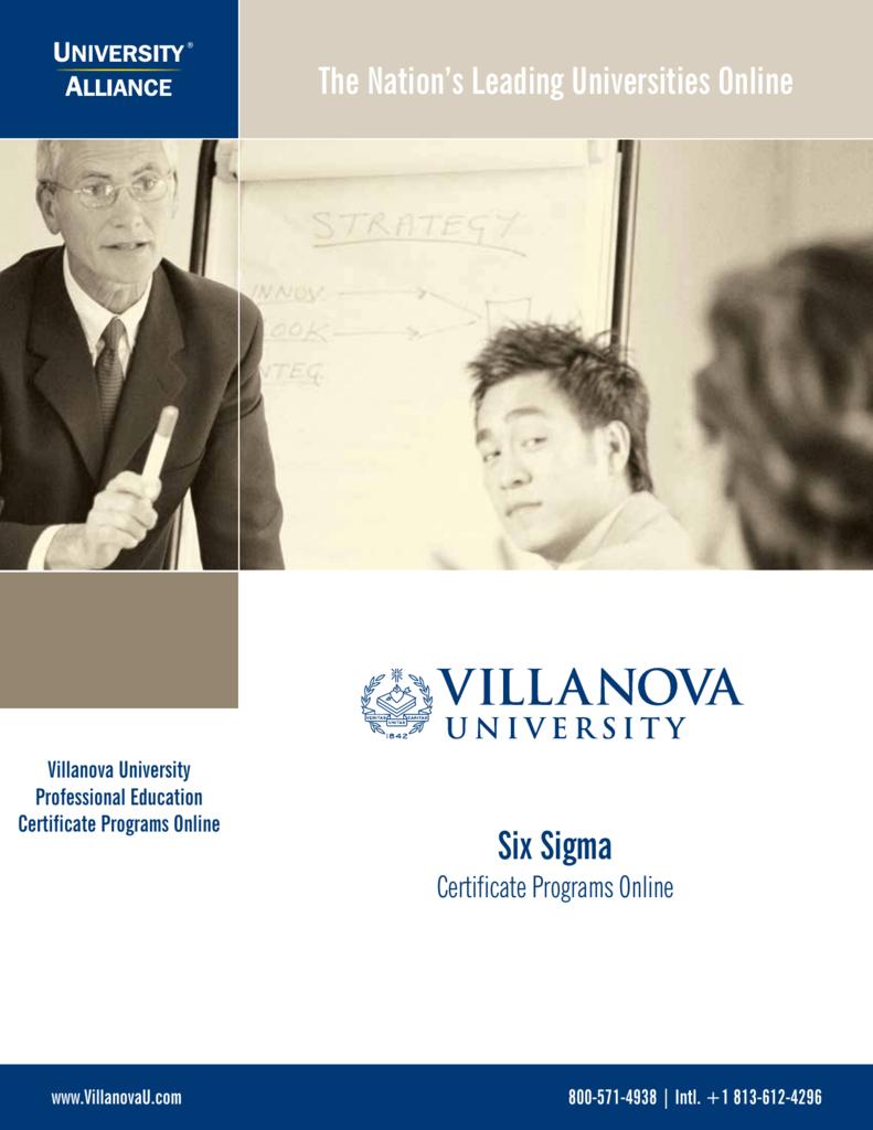 Six Sigma University Alliance