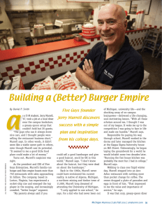 Building a (Better) Burger Empire