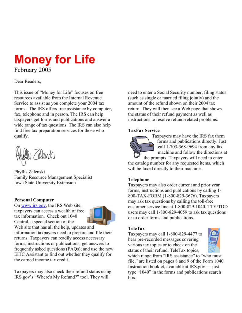 Money for Life - Iowa State University Extension and Outreach