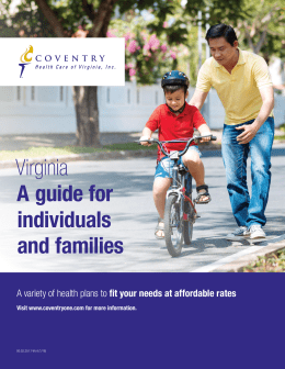 Virginia A guide for individuals and families