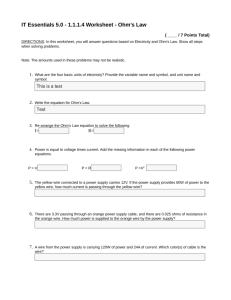 IT Essentials 5.0 - 1.1.1.4 Worksheet
