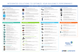 integrated solutions to optimize your building's