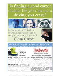 Is finding a good carpet cleaner for your business driving you crazy?