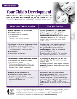 Your Child's Development