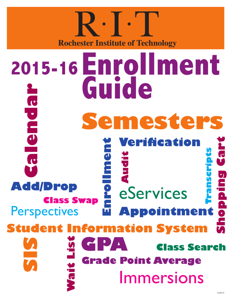 ferpa form rit  Semesters - RIT - Student Information System