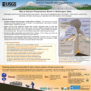 Volcano Hazards and Preparedness