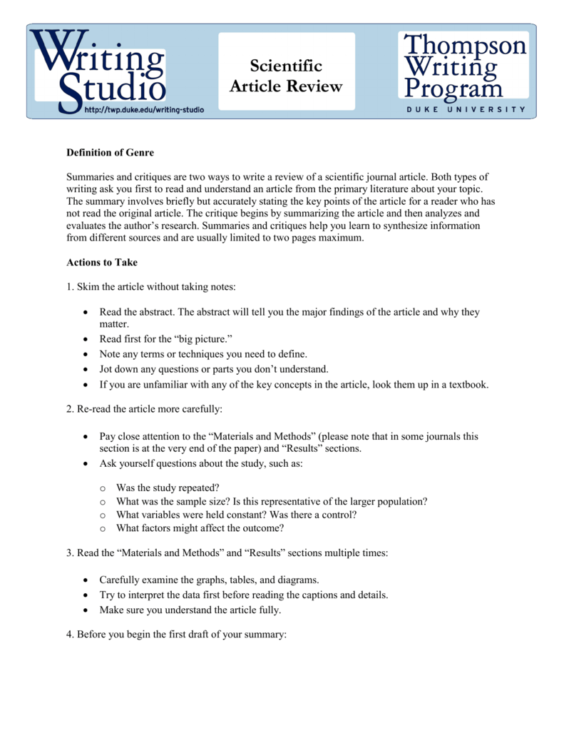 how to write an abstract for a review paper