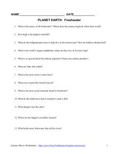 PLANET EARTH: FRESHWATER DVD http://dsc.discovery.com