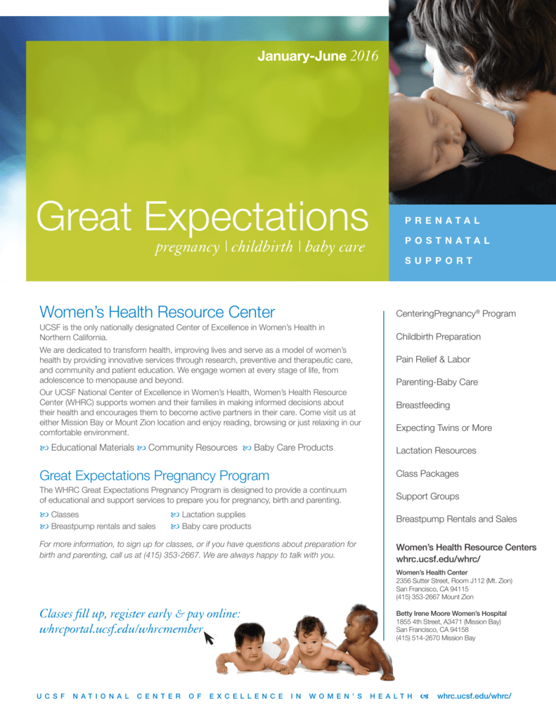 Our complete 2016 Great Expectations Class Catalog is available