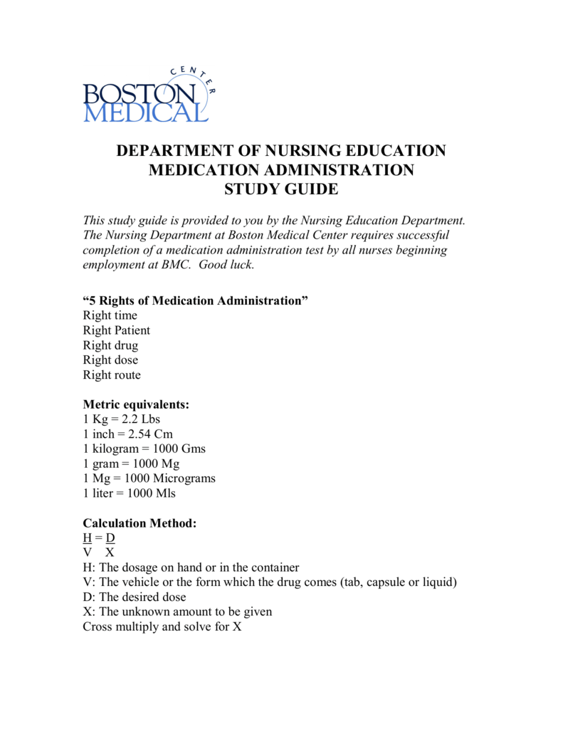 medication administration worksheet