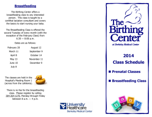Birthing Center Brochure 2014.pub