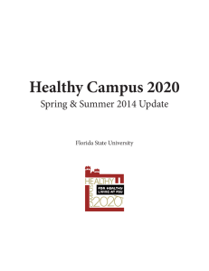Healthy Campus 2020 - Florida State University