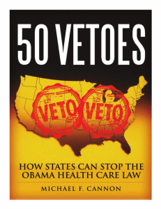 50 vetoes: how states can stop the obama health