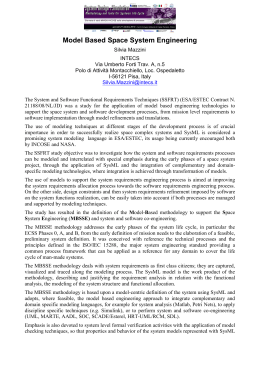 The System and Software Functional Requirements