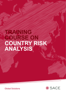 country risk analysis training course on