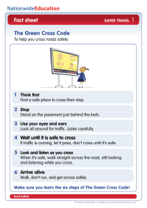Fact sheet The Green Cross Code