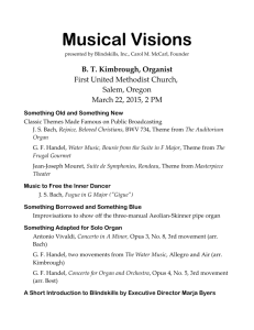 Musical Visions - Blindskills, Inc.