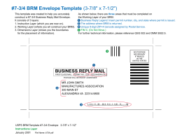 922 business reply mail brm 7 34 brm envelope template 3 78 x wajeb Images