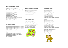 FEBRUARY RHYMES AND SONGS