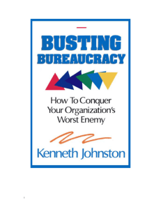 Busting bureaucracy (full book)