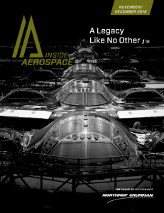 A Legacy Like No Other 18 - Northrop Grumman Corporation