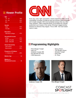 news operation, CNN's respected family of