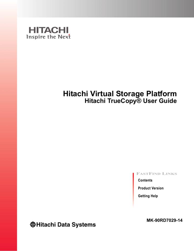 Hitachi universal replicator user guide for vsp f series and vsp g.