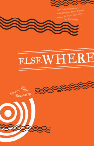 ELSEWHERE - Poetry Foundation