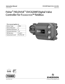 fisher 2052 diaphragm rotary actuator instruction manual