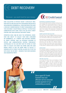 CCC 50457 Debt Recovery ƒa.indd