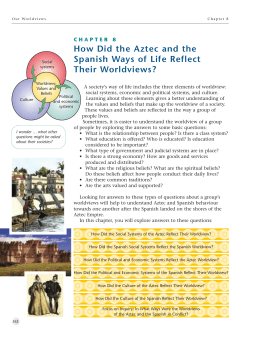 Social studies 8 final how did the aztec and the spanish ways of life reflect their sciox Image collections