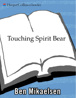 Touching Spirit Bear - Amherst Middle School